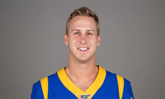 Know About Jared Goff Wife Net Worth College Age Weight Stats